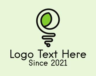 Electrical - Eco Electric Lightbulb logo design