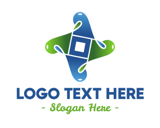 Element - Environmental Liquid logo design