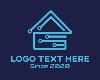 Microchip - Circuit House logo design