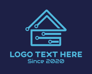 It Company - Circuit House logo design