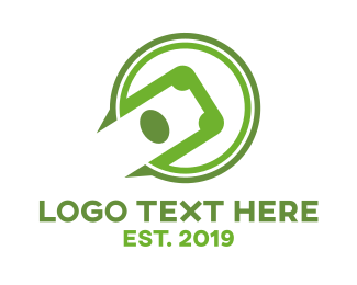 Monetary - Green Circle Cash logo design