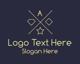 Coat Of Arms - Modern Hip Brand logo design