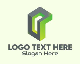 3d - 3D Abstract Gaming logo design