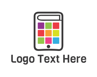 Bookstore - Application Book logo design
