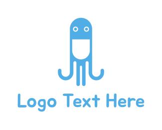 Octopus - Octopus Pill logo design