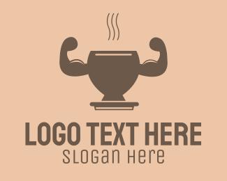 Strong - Strong Hot Drink logo design