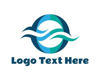 Letter O - Blue Letter O logo design