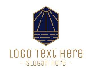 Luxurious - Luxurious Sunbeam logo design