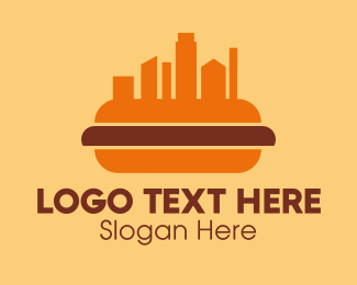 Hot - Hot Dog City logo design