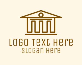 Pillars - Museum Building  logo design