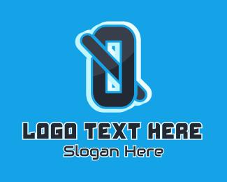 Q - Digital Letter Q  logo design
