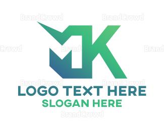 Department - M & K logo design