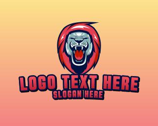 Lion - Lion Gaming Mascot logo design