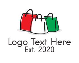 Fashion - Italian Fashion Handbag Bags logo design
