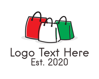 Fashion - Italian Fashion Handbag Bags logo design