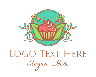 Celebration - Pastry Cupcake Cake logo design