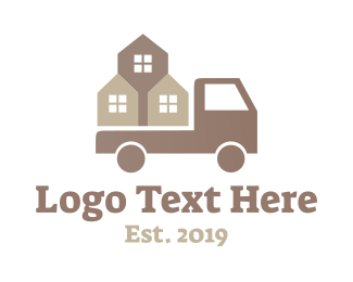 Tractor - Construction Truck logo design