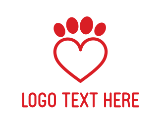 Dating App - Pets Love logo design
