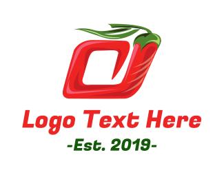 Tabasco - Spiral Pepper logo design