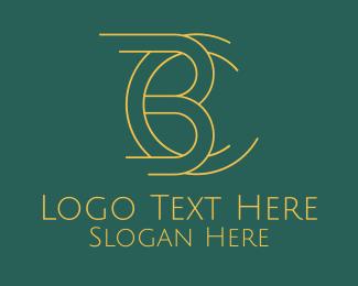 Cb - B & C Designer Monogram logo design