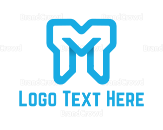 Mykonos - Bold Letter M logo design