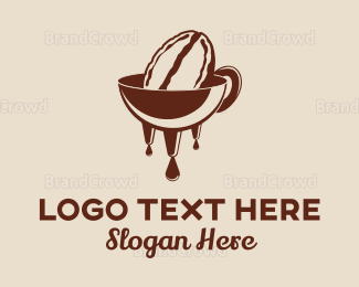 Liquid - Bean Melt logo design