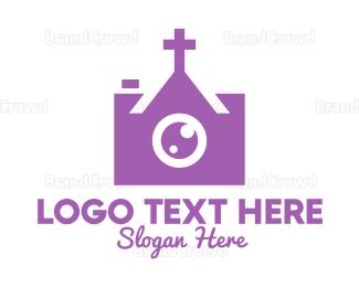 Cathedral - Christian Photographer logo design