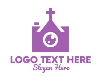 Christian - Christian Church Photographer Camera logo design