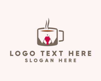 Cafe - Office Coffee logo design