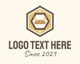 """Hexagon Bakery Sign"" by marcololstudio"