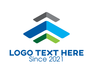 Renovation - Multicolor Roofing Renovation logo design