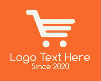 Shopping Cart - Modern Shopping Cart logo design