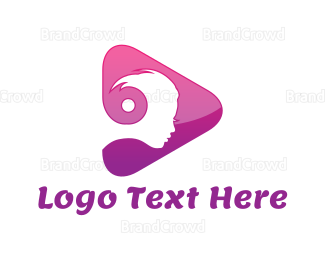 Woman - Woman Media logo design