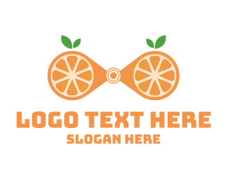 Investigate - Zoom Orange logo design
