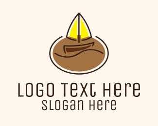 Sailboat - Sailboat Coffee Shop logo design