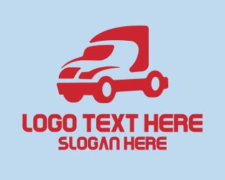 Shipping Company - Cargo Trucking Company logo design