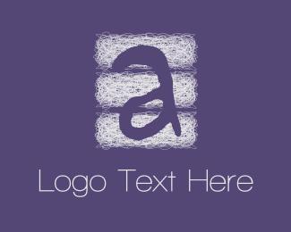 """""""Purple Letter A"""" by D4design"""