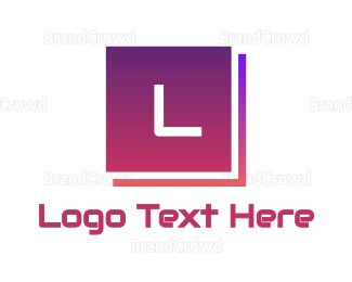 """Gradient Tech Text"" by BrandCrowd"
