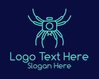 Spider - Spider Camera  logo design