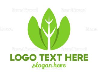 Organic - Organic Leaves logo design