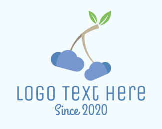 Cranberry - Cherry Cloud logo design