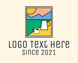 Image - Morning Mountain Coffee  logo design
