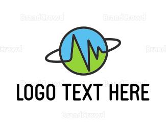 Planet - Planet Pulse logo design