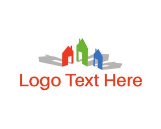 Neighborhood - Colorful Neighborhood logo design