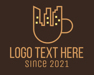 Coffee Cup - City Coffee Cup logo design