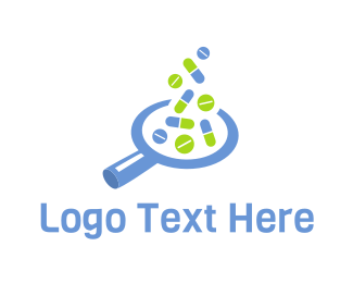 Look - Drug Finder logo design