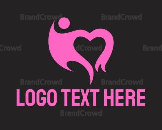 Social - Black Heart logo design