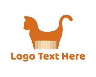 Cat Comb Logo