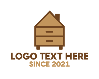 Woodwork - Home Furniture logo design
