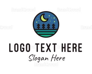 Countryside - Stary Night  logo design